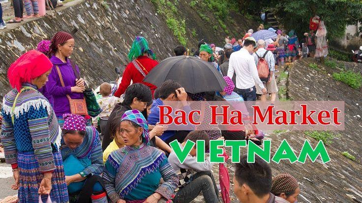 Bac Ha Market Travel in Bac Ha, Lao Cai Vietnam | Vietnam Travel with ZA...
