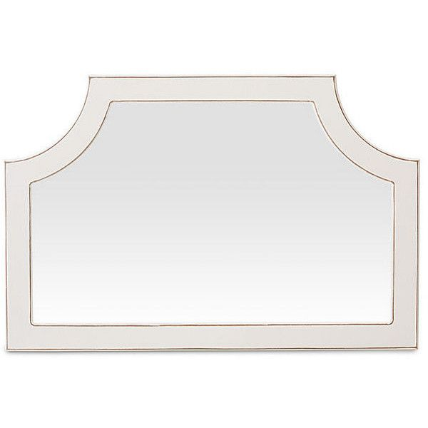 Mirrors Landscape Wall Mirror Ecru Wall Mirrors ($225) ❤ liked on Polyvore featuring home, home decor, mirrors, cream wall mirror, bone mirror, antique white mirror, cream framed mirror and antique white wall mirror
