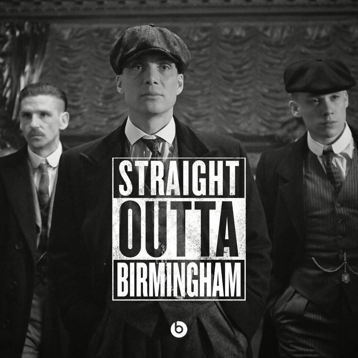Peaky Blinders. Love it!!