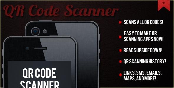 QR Code Scanner App Template ( Scanner / Reader )
