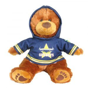 Cowboys Plush Toys Supporter t-shirts with hood printed with team colours and logos