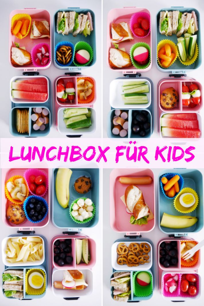 Lunchbox für Kinder #Lunchbox #Brotbox #Lunchboxideas #Schule #Backtoschule   – Wir sind Echte Mamas – Gruppenboard
