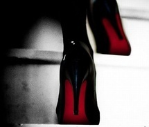Sexy ShoesFashion Statement, Black Dogs, Christian Louboutin Shoes, Red Heels, Red Sole, Black Shoes, Black Heels, New Shoes, Red Bottom