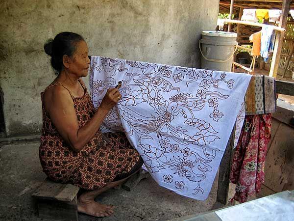 Sejarah pembuatan batik