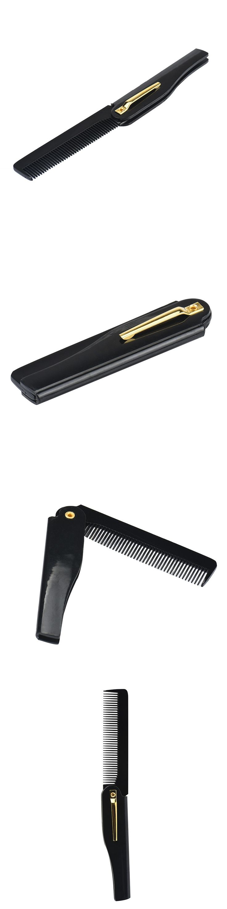 A# 2017 Hairdressing Beauty Folding Beard And Beard Comb Beauty Tools For Men hair brush #1030