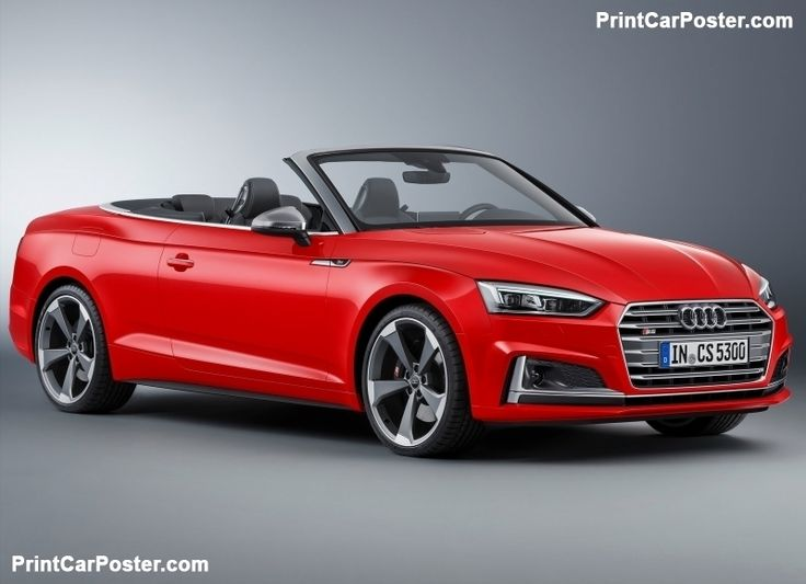Audi S5 Cabriolet 2017 poster, #poster, #mousepad