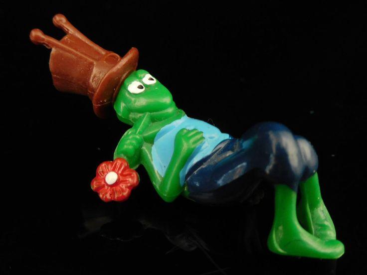 Vintage Toys, Collectible, Maya the Bee, Biene Maja Apolo Film 1986, Grasshopper Willi (lying), Vintage KINDER Surprise Figurines by MrVintageToySurprise on Etsy