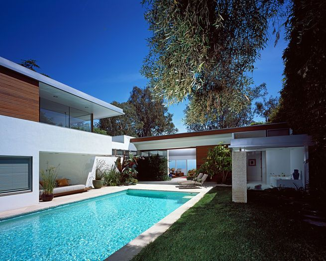 Freedman House (Richard Neutra, 1949) Pacific Palisades