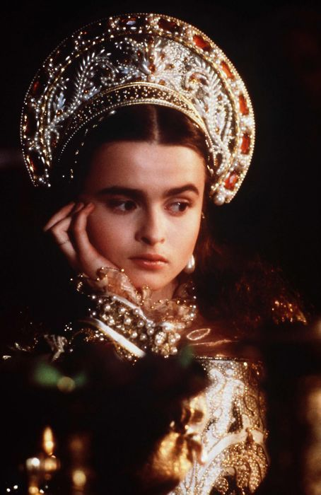 Helena Bonham Carter in Lady Jane....way before her role in Harry Potter as the evil witch!!