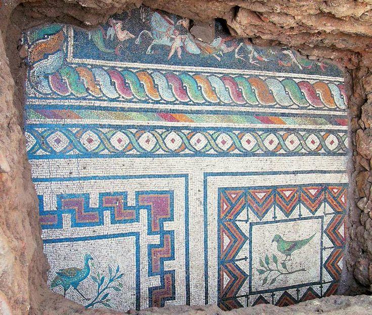 Ανασκαφές Πλωτινόπολη Διδυμοτείχου - Βρέθηκε ψηφιδωτό