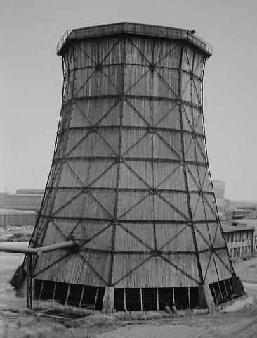Cooling Tower, Zeche Schalker Verein, Gelsenkirchen, Ruhr, Germany, 1982