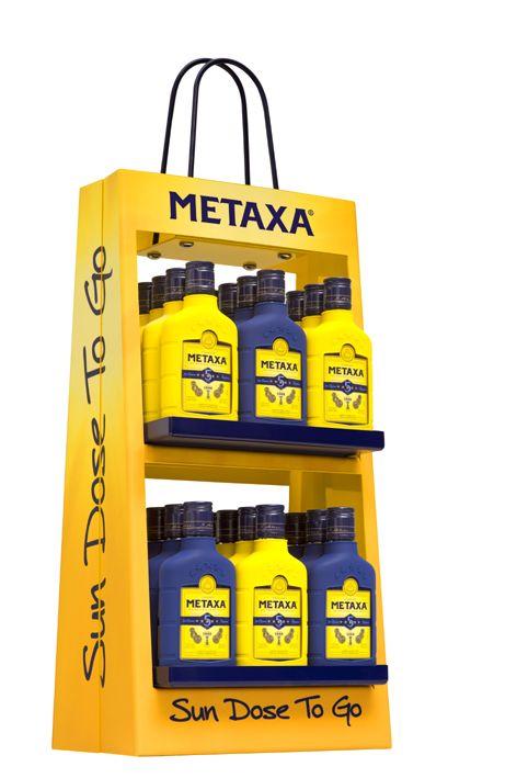 The House of Metaxa - METAXA SUN DOSE TO GO DISPLAY