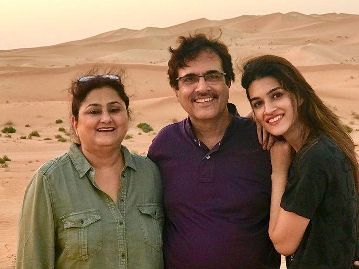 #FamilyTime #Dubai ❤️ @sanonrahul @geeta_sanon .. @nupursanon you were missed!!