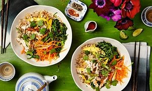 The weekend cook: Thomasina Miers' recipes for Vietnamese bun cha and a Japanese rice bowl   Life and style   The Guardian
