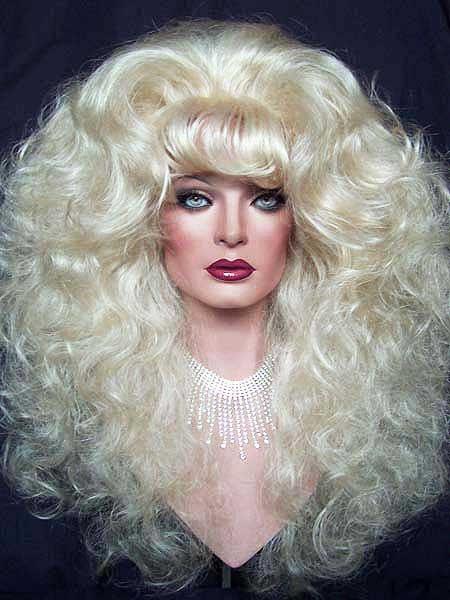 Blonde Drag Wig By New Attitude Wigs Via Flickr Drag