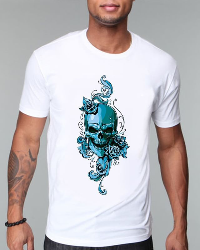 https://www.navdari.com/products-m00267-BLUESKULLANDFLORALTSHIRT.html #blueskull #blue #skull #floral #TSHIRT #CLOTHING #Men #NAVDARI