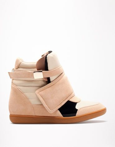 Bershka Czech Republic - BSK urban velcro wedges