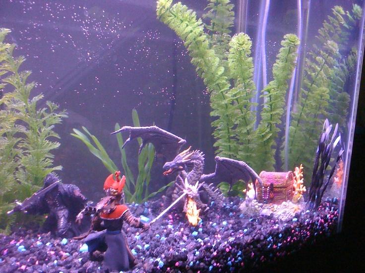 28 best images about aquarium fish we have on pinterest - Petit aquarium design ...