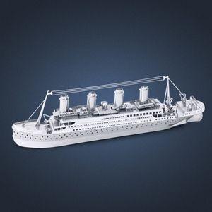 Make Your Own 3d Mini Laser Cut Model Of Titanic