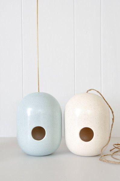 Birdhouse - handmade ceramics from New Zealand artist Gidon Bing