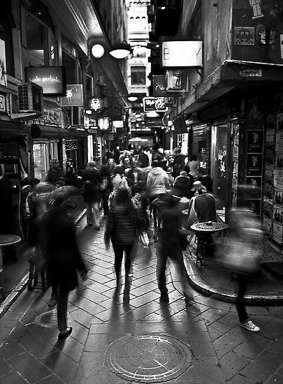 Melbourne - one the famous laneyways #melbourne #laneyway #coffee #cafe #cbd #victoria #australia