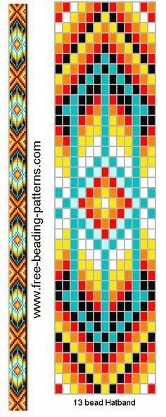 #Free bead pattern