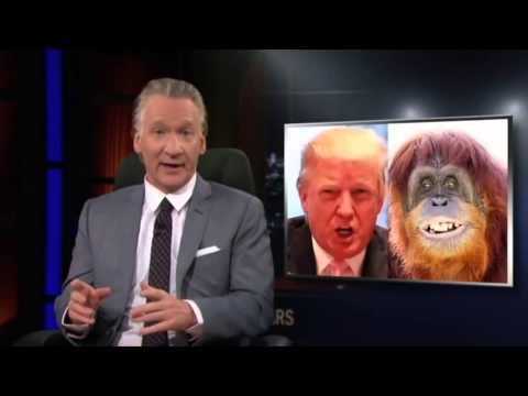 Maher asks Ann Coulter: Would your 'imaginary friend' Jesus approve of your anti-immigrant rants? - YouTube