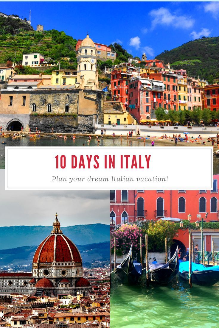Discover your perfect itinerary for 10 days in Italy! Italy itinerary; perfect Italy itineraries