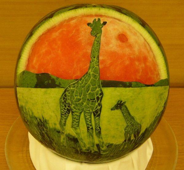Best fruit carvings ideas on pinterest art