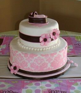 Baby shower idea - love this for a girl!!