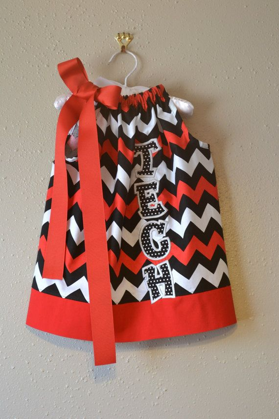 Girls Texas Tech Game Day Dress on Etsy, $25.00