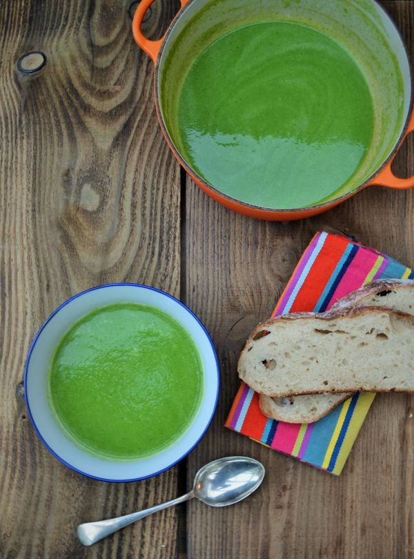 Tinned Tomatoes: 5 Minute Green Smoothie Soup - 5:2 Diet