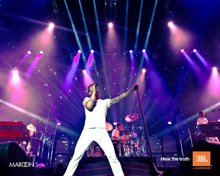 Adam Levine and Maroon 5 for JBL. Hear the truth.