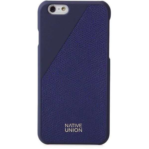 Native Union Leather iPhone 6/6S Case (705 MXN) ❤ liked on Polyvore featuring men's fashion, men's accessories, men's tech accessories and mens leather accessories