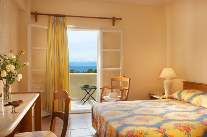 Well appointed sea view guestrooms