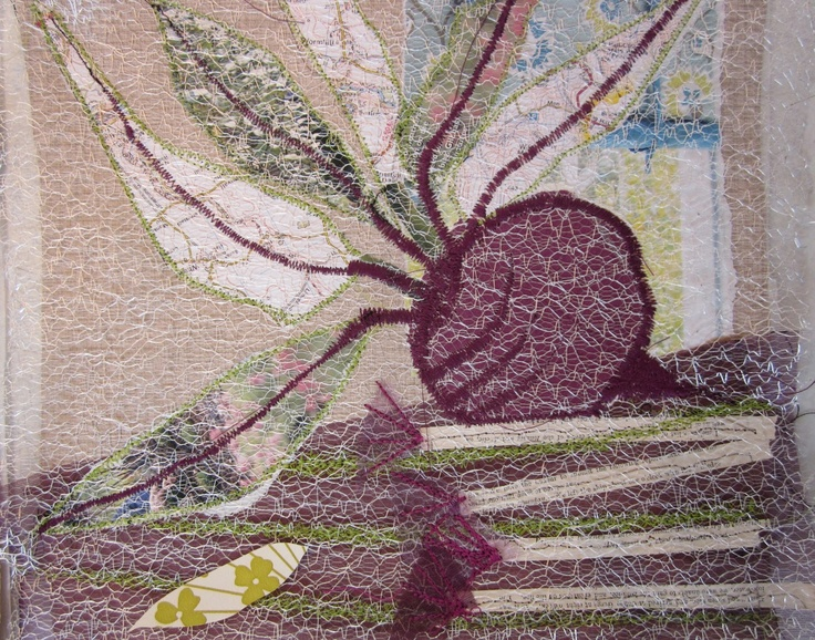 H-anne-Made: Stitched Collage Workshop