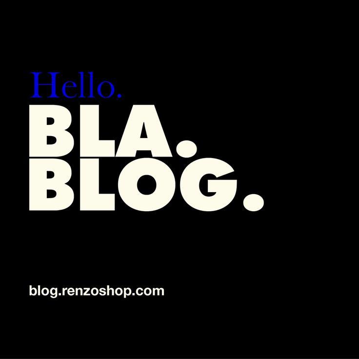 Además de nuestra nueva #Web, estrenamos el #RenzoBlog, pensado para compartir noticias sobre moda y estilo, brindar consejos para optimizar tu imagen, actualizar sobre las últimas tendencias y descubrir el estilo de vida de #Renzo.  ⭐ Visitá http://blog.renzoshop.com/ ⭐