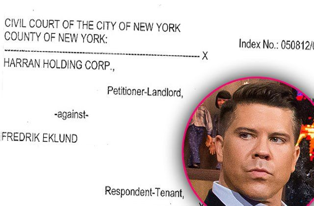 'Million Dollar' Bust! Fredrik Eklund EVICTED From Trendy New York Apartment
