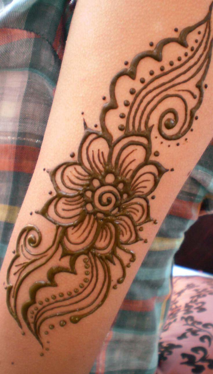 Henna Flower Tattoos: Henna Flower