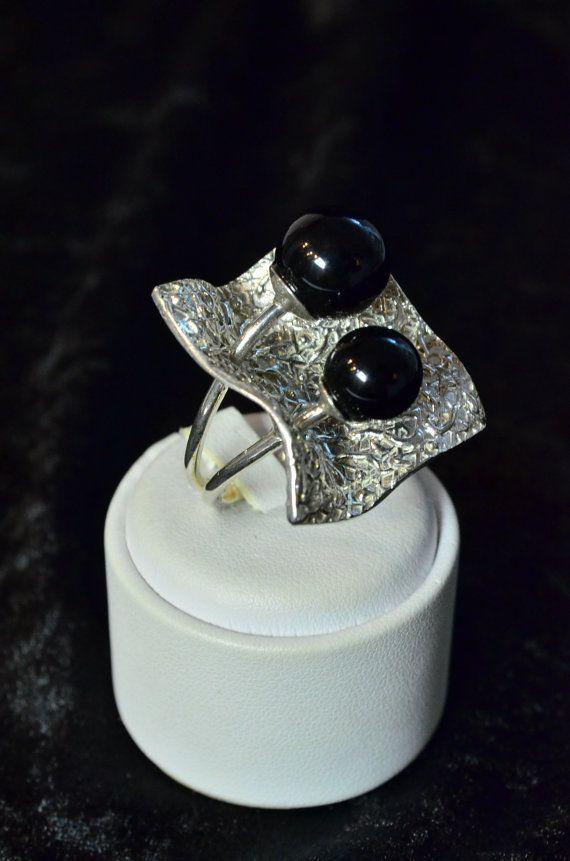 Guarda questo articolo nel mio negozio Etsy https://www.etsy.com/it/listing/266824599/anello-onice-argento-925anello