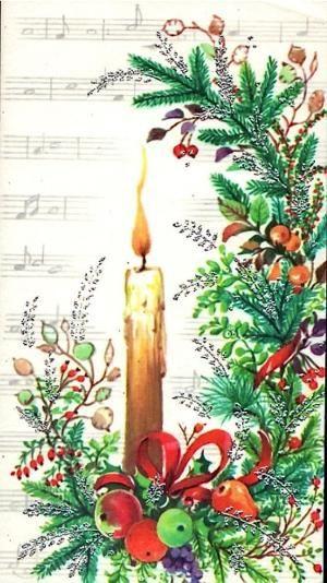 Vintage Christmas Card by patrica