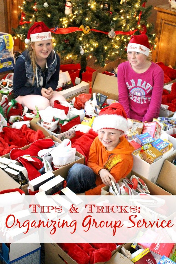 Tips and Tricks: Organizing Group Service - great suggestions for putting together a service project. www.lets-get-together #service