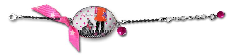 Bracelet fantaisie enfant original Lapin, Fifi Bastille