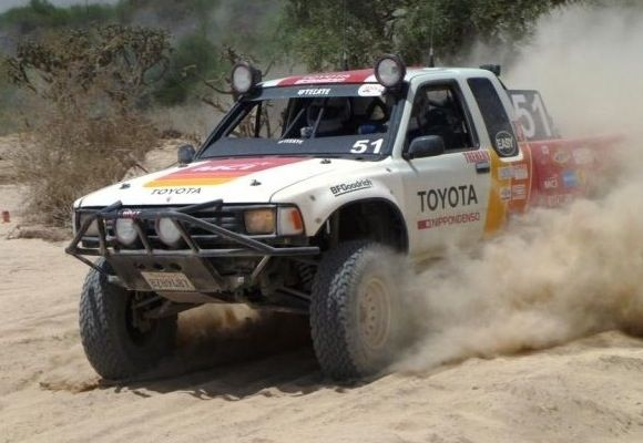 1991 Toyota NORRA 1000 Mexican Ivan Stewart Race Truck For Sale Dirt