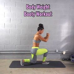 """13.4k Likes, 335 Comments - Carmen Morgan (@mytrainercarmen) on Instagram: """"Body-Weight Booty Workout - - 3-5 Sets - - Outfit: @cutebootylounge - - #homeexercises…"""""""
