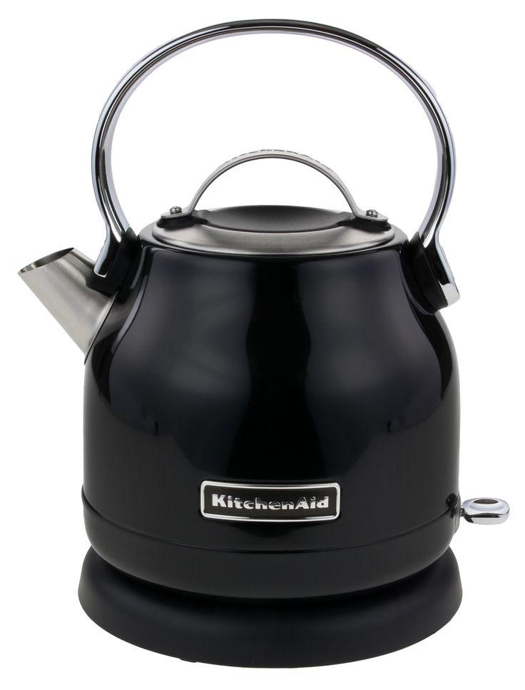 KitchenAid 5KEK1222EOB Wasserkocher 1,25 L Onyx Schwarz