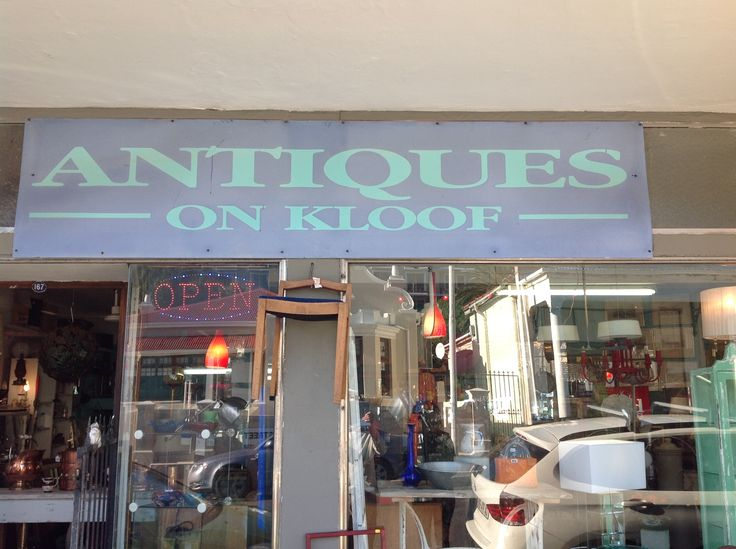 hunt for the best antiques along Kloof Street  #kloofstreet #antiques