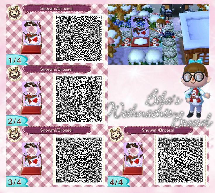 Animal Crossing New Leaf Qr Codes Boden Deko