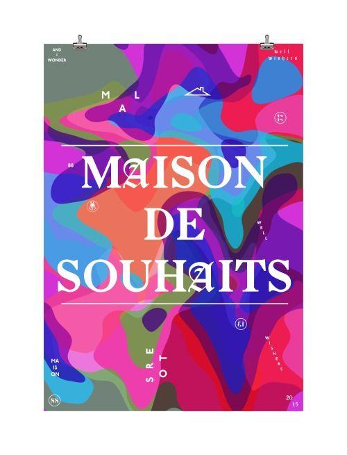 visualgraphc:  Maison de Souhaits 2015 Well Wishers...