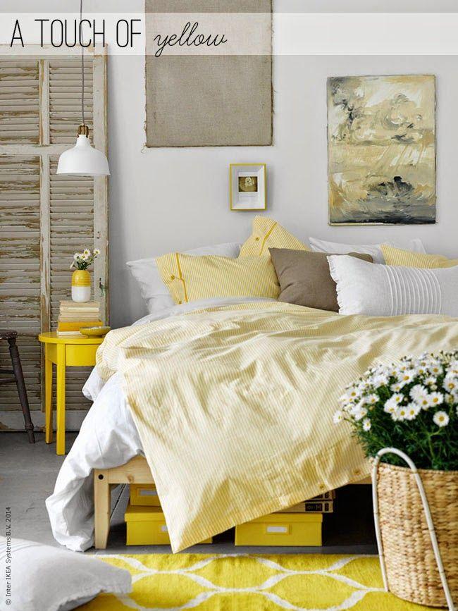Home Shabby Home | Idee di arredamento, interior, decor: Un tocco di giallo in casa!